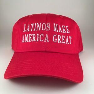 Latinos Make America Great -Custom Hat